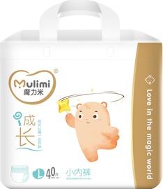 Mulimi Diapers Panties L 40pcs