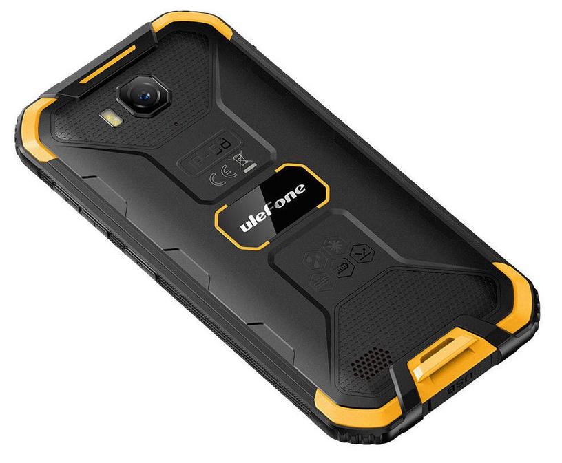 Mobilais telefons Ulefone Armor X6, melna/oranža, 2GB/16GB