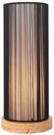 Candellux Kioto 40W E27 Table Lamp Wooden Black