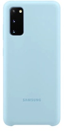 Samsung Silicone Back Case For Samsung Galaxy S20 Sky Blue