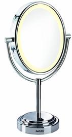 Spogulis Babyliss Halo 8437E Chrome, ar gaismu, stāvošs, 18x41 cm