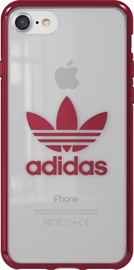 Adidas OR Clear Back Case For Apple iPhone 7/8 Red