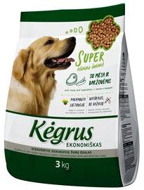 Kegrus Economic Adult Dog Food Meat & Vegetables 3kg