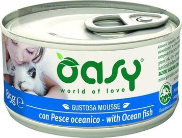 Oasy Adult Cat Wet Mousse w/ Ocean Fish 85g