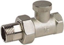 ARCO Teide Backflow Radiator Valve Straight 1/2''
