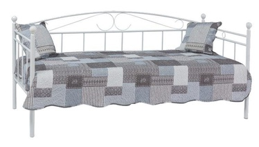 Кровать Signal Meble Ankara B2 White, 209x96 см, с решеткой