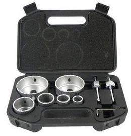 Geko Holesaw Set 22-73mm 6pcs
