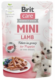 Влажный корм для собак Brit Care Mini Lamb, 0.085 кг