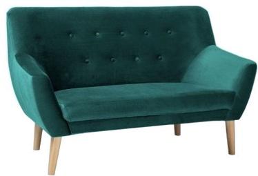 Dīvāns Signal Meble Nordic 2 Velvet Bluvel 78 Green, 136 x 75 x 90 cm