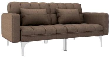 Диван-кровать VLX Universal 247219, коричневый, 175.5 x 84 x 79.5 см