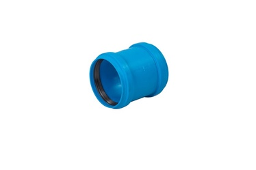 Двойная муфта Magnaplast Double Indoor Repair Coupling D50mm Blue