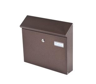 Почтовый ящик Glori Ir Ko PD968 Bronze, 317x90x354 мм