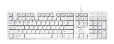 Gembird KB-MCH-03 Multimedia Keyboard White US