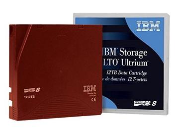 Datu arhivēšanas lente IBM LTO8 medium 30 TB, 30 TB