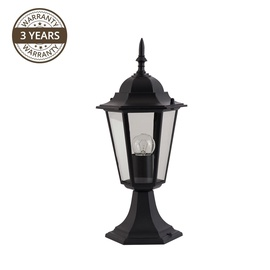 Lampa Domoletti Chora 053-PF, 1x60W, E27, IP43, melna