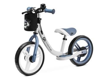 "Балансирующий велосипед KinderKraft Space Sapphire Sky, синий/белый, 11"", 12″"
