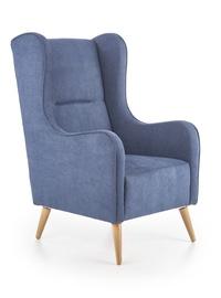 Atzveltnes krēsls Halmar Chester Navy Blue, 85x67x114 cm