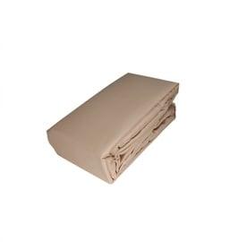 Простыня Domoletti Satin 14-1118 Beige, 160x200 см, на резинке