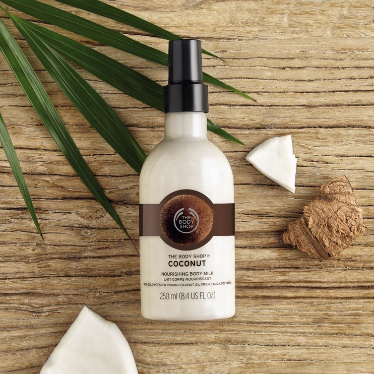 The Body Shop Body Milk 250ml Coconut