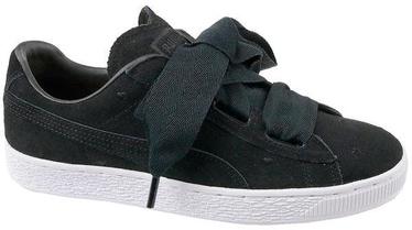 Sporta kurpes Puma Suede Heart Kids Shoes 365135-02 Black 38.5