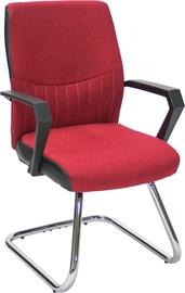 Apmeklētāju krēsls Home4you Angelo Red 27942