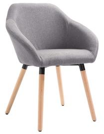 Ēdamistabas krēsls VLX 283449, pelēka