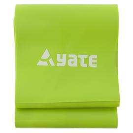Гимнастическая лента Yate Fit Band Soft Green, 1200 мм x 120 мм x 1 мм