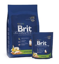 BARĪBA BRIT PREM CAT STERILIZED 1.5KG