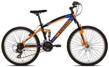 """Велосипед Esperia Full, oранжевый, 24"""", 24″"""