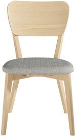 Ēdamistabas krēsls Home4you Riga, pelēka