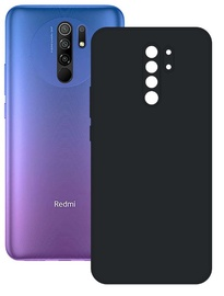 Ksix Silk Back Case For Xiaomi Redmi 9 Black
