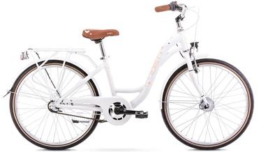 Bērnu velosipēds Romet Panda 1 13'' 24'' Pink/White 21