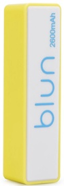 Ārējs akumulators Blun Perfume Yellow, 2600 mAh
