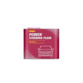 Centrālais hidraulisks un stūres pastiprinātāja šķidrums Mannol Power Steering Fluid 0.5l