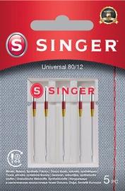 Singer Universal Needle 80/12 For Woven Fabrics 5pcs