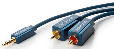 Clicktronic MP3 Adaptor Cable 5m Blue 70469