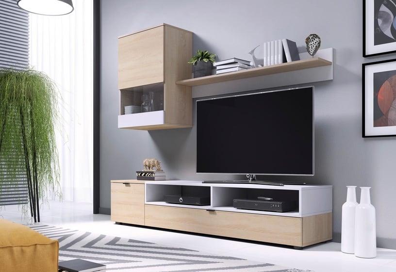 Dzīvojamās istabas mēbeļu komplekts Halmar Snap Sonoma Oak/White Matt
