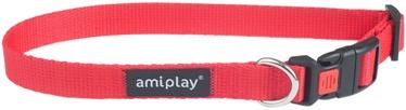 Kaklasiksna Amiplay Basic, sarkana, 250 - 400 mm x 15 mm