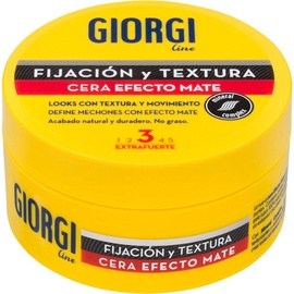 Matu vasks Giorgi Line Matte Effect Wax No.3, 75 ml