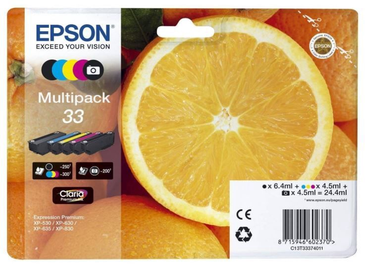 Epson Ink Cartridge For Epson 4-colour