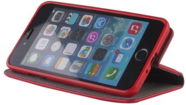 Mocco Smart Magnet Book Case For Samsung Galaxy J4 J400 Red