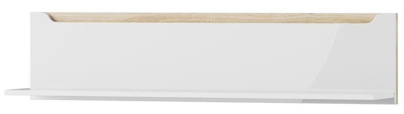Szynaka Meble Hanging Wall Shelf Ice 32 White