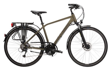 Велосипед Kross Trans 5.0, коричневый/черный, 28″