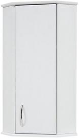 Vannas istabas skapītis Sanservis KN-4 Standart Corner White 37.5x88x37.5cm
