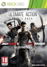 Xbox 360 spēle Ultimate Action Triple Pack: Just Cause 2, Tomb Raider And Sleeping Dogs Xbox 360