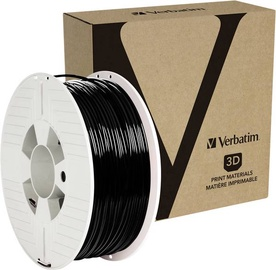 Palīgmateriāli 3D printeriem Verbatim PET-G Filament, melna