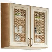 Верхний кухонный шкаф WIPMEB Febe FE-06/G80W, песочный, 800x285x720 мм