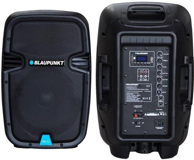 Bezvadu skaļrunis Blaupunkt PA10 Black, 600 W