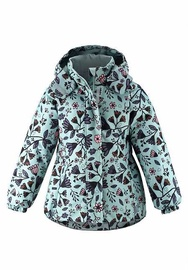 Куртка Lassie Winter Jacket 721734-8192-128, зеленый, 128 см