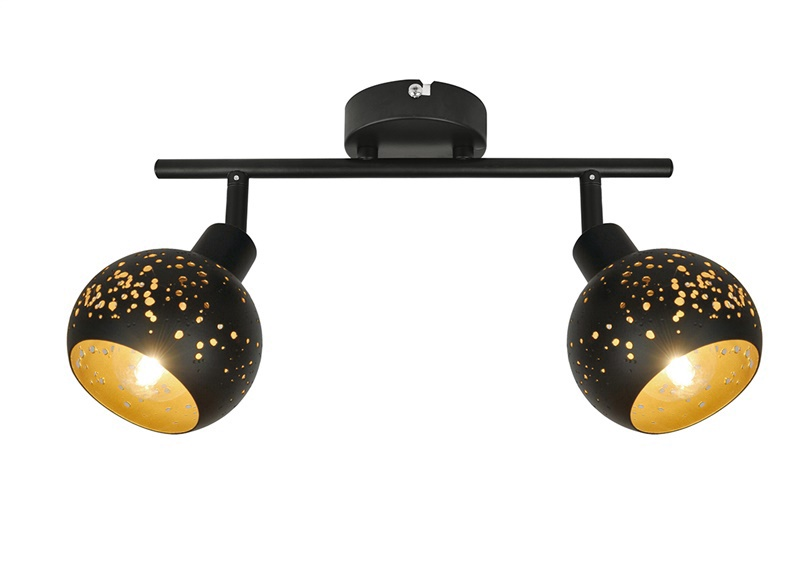 Gaismeklis Easylink Spotlight 2x28W Black G916002-2TU